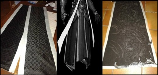 Mathael cosplay cape