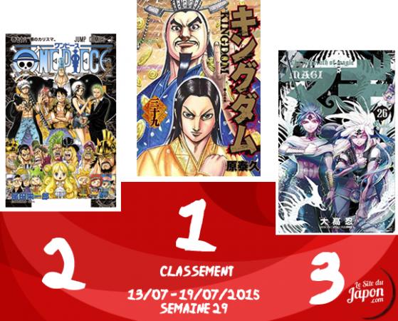 Classement Manga 2015   semaine 29   13/07 au 19/07