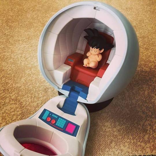 Figurine Goku bebe