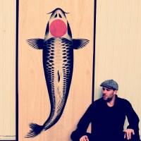 Street Art Koï, rencontre avec l'artiste français Kabé