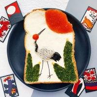 Toast Art, un concept de la designer Manami Sasaki