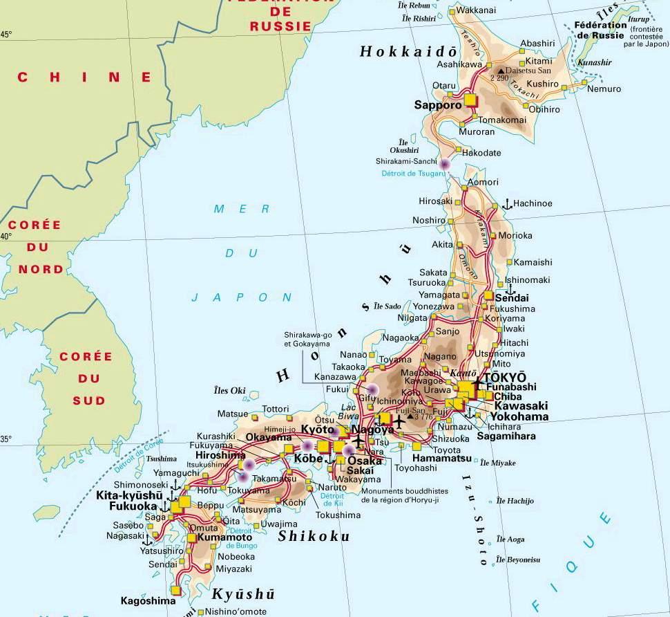 Signification Du Nom Des Villes Japonaises En Français
