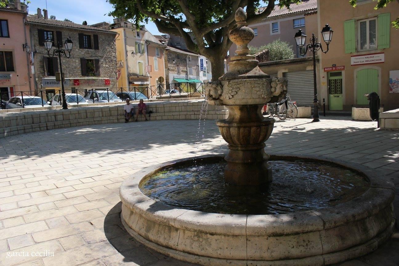 Fontaine à Orange