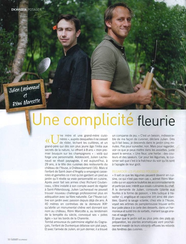 Article Sud Ouest Gourmand_600x800