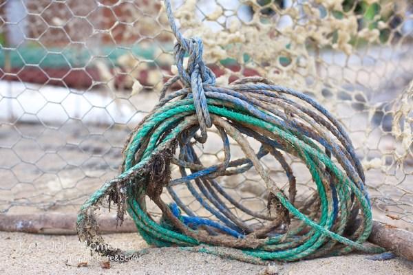 cordage de pêche Anse Dufour Martinique