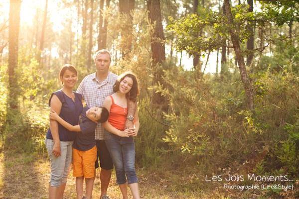 Delphine seance famille en foret landaise 22