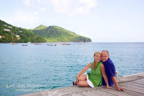 Seance photo touristes russes en Martinique 6