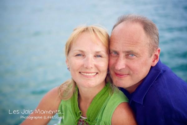 Seance photo touristes russes en Martinique 7