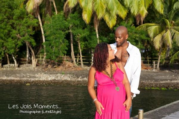 Photos Antillaise enceinte de 7 mois Martinique 2