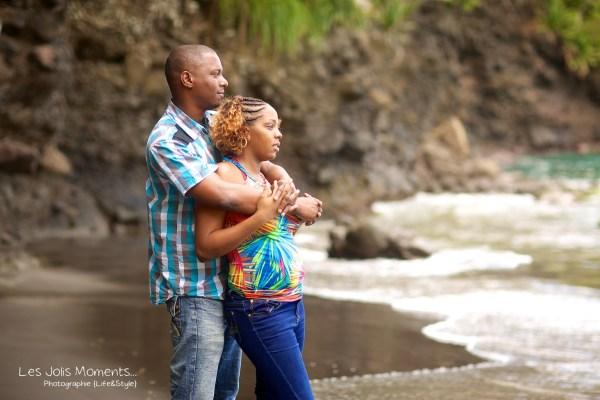 Seance photo bebe anse Noire Martinique 27