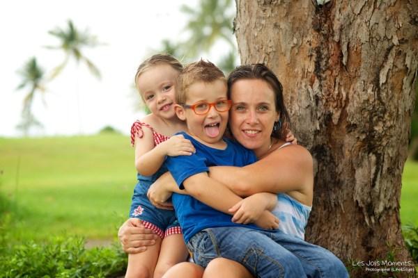 Seance photo enfants fratrie Martinique 26