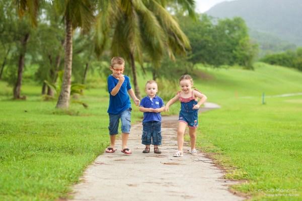 Seance photo enfants fratrie Martinique 45