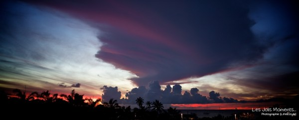 coucher de soleil Anse Mitan (3)