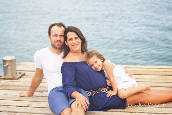 Seance grossesse en famille a la plage Martinique 18