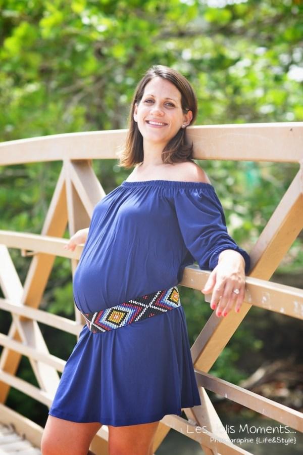 Seance grossesse en famille a la plage Martinique 36
