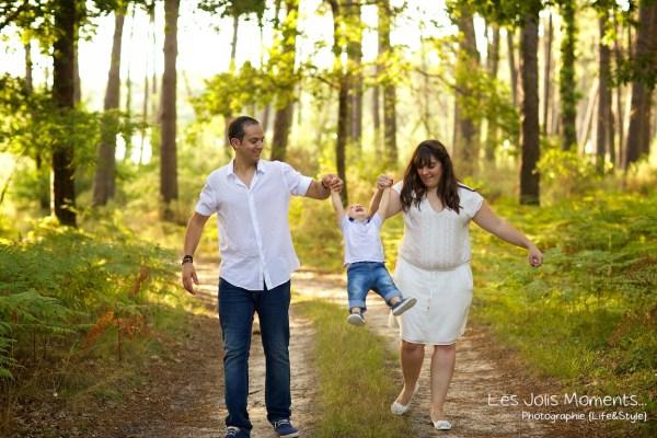 Seance photo famille dans les Landes 21