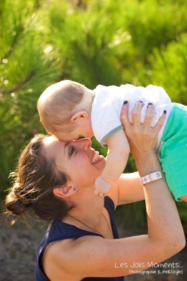 Seance en famille avec bebe dans les Landes 29
