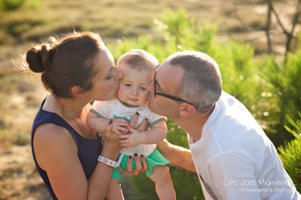 Seance en famille avec bebe dans les Landes 33