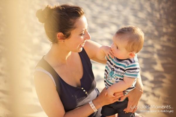 Seance en famille avec bebe dans les Landes 51