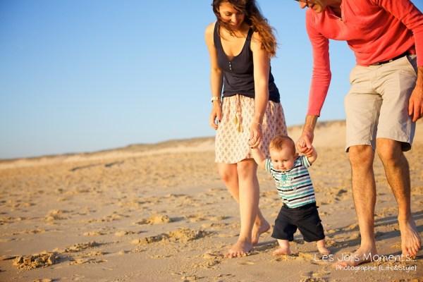 Seance en famille avec bebe dans les Landes 58