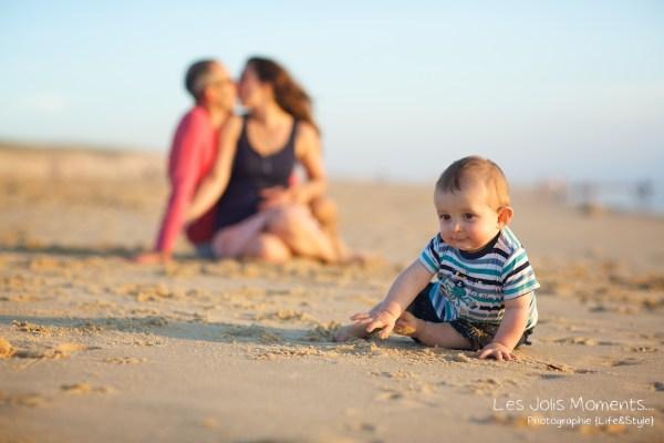 Seance en famille avec bebe dans les Landes 63