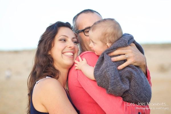 Seance en famille avec bebe dans les Landes 80