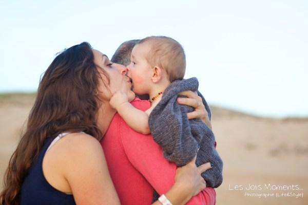 Seance en famille avec bebe dans les Landes 81