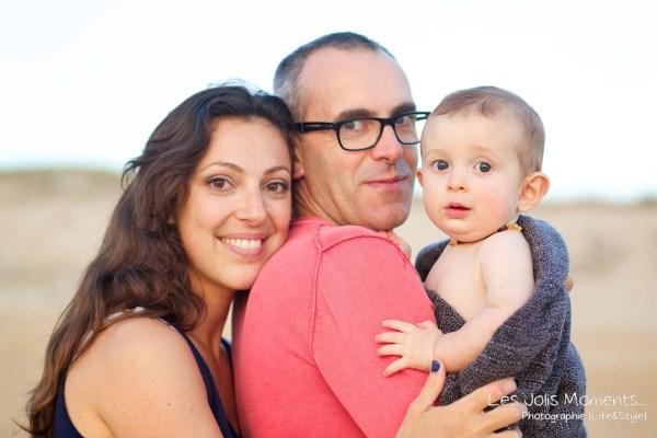 Seance en famille avec bebe dans les Landes 82