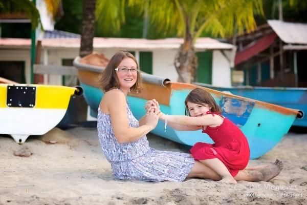 seance grande famille a la plage