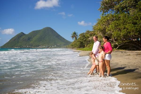 Seances photo en famille en Martinique Diamant 9
