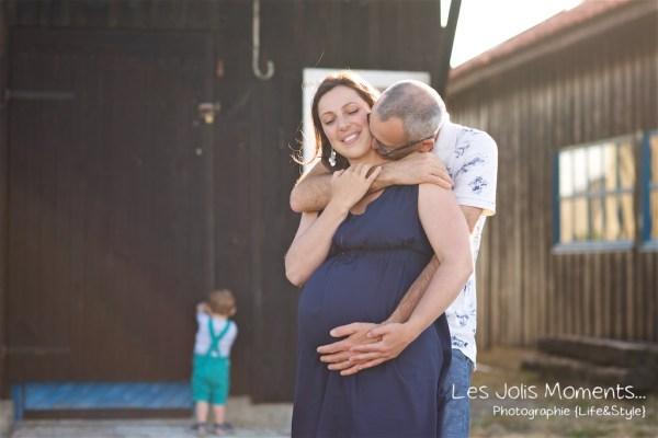 Seance grossesse en famille Bassin Arcachon 16