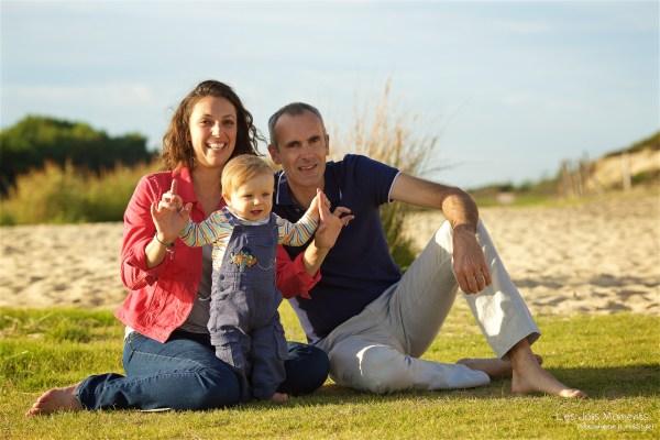 Seance en famille a Moliets 40