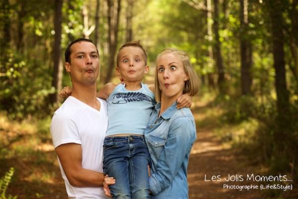 Seance photo grande famille au Courant d huchet 52