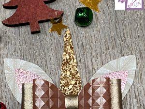 barrette grande licorne cadeau noël petite fille artisanat local