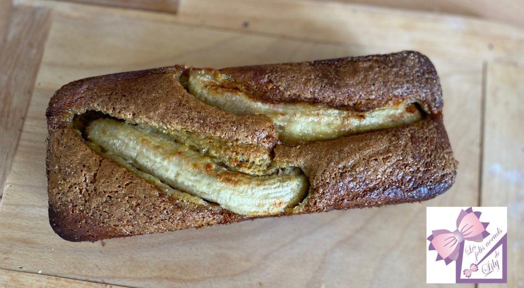 banana bread goûter recette enfant banane