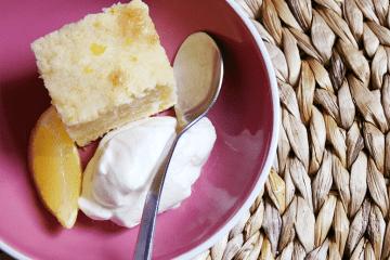 Gâteau au yogourt au citron
