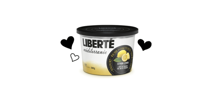 Yogourt au Citron Liberté