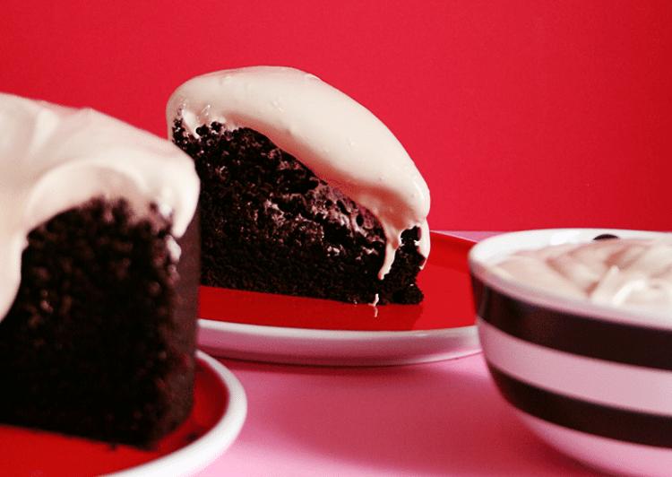 Gâteau au chocolat et à la bière Guiness