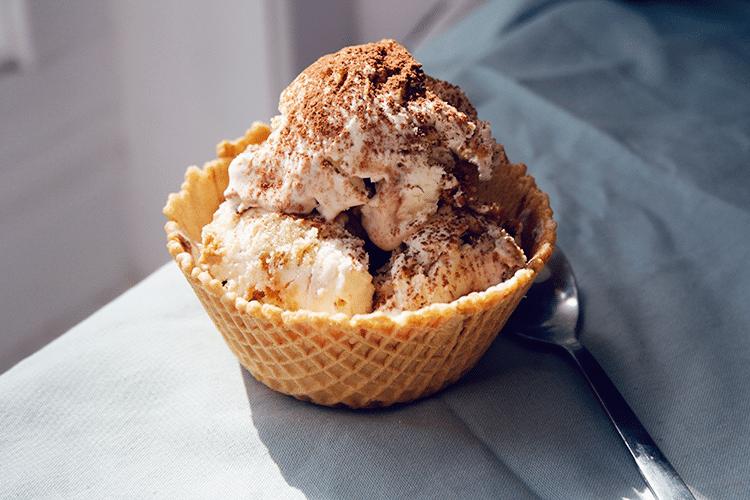Crème Glacée au Tiramisu