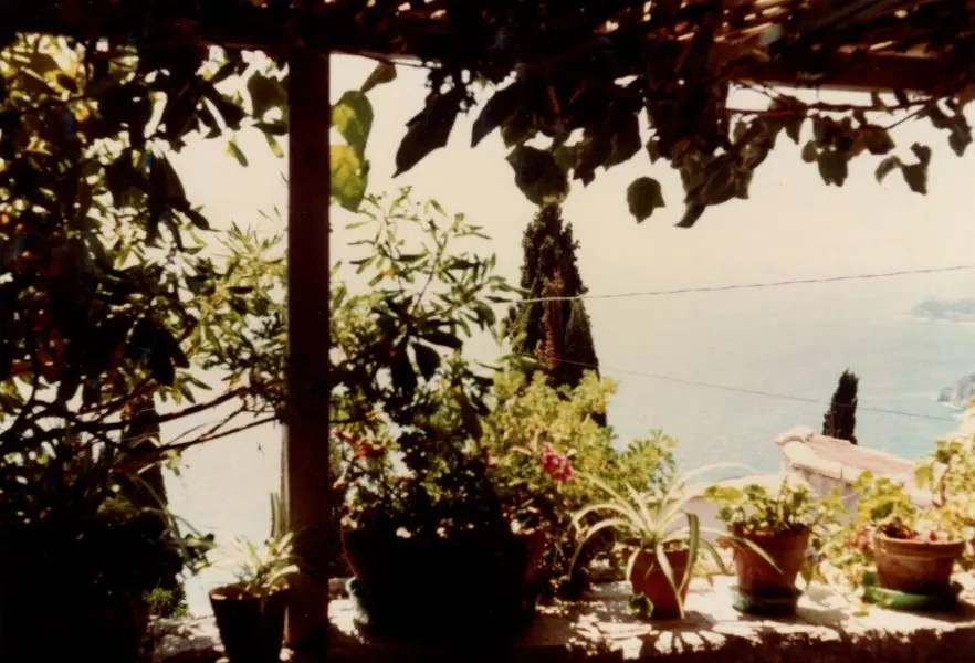 lesley blanch terrace view roquebrune gael elton mayo