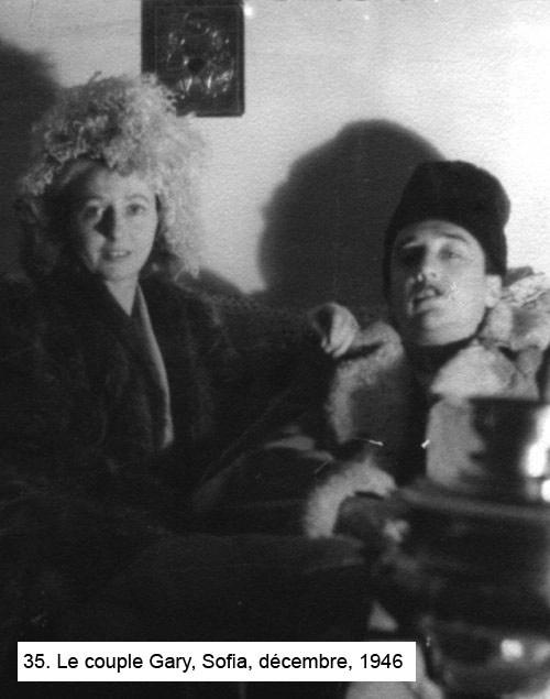 lesley blanch, romain gary, sofia,1946