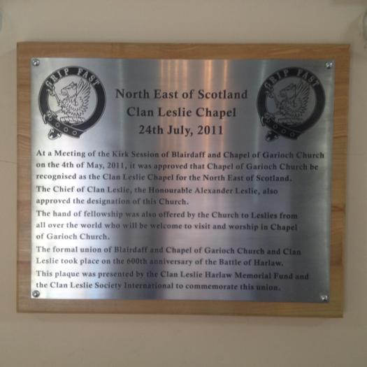 Grip Fast Clan Leslie Chapel