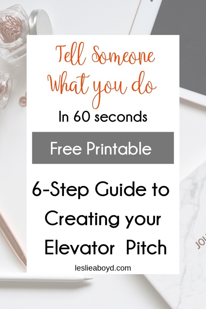 elevator pitch, women, entrepreneur, goal setting
