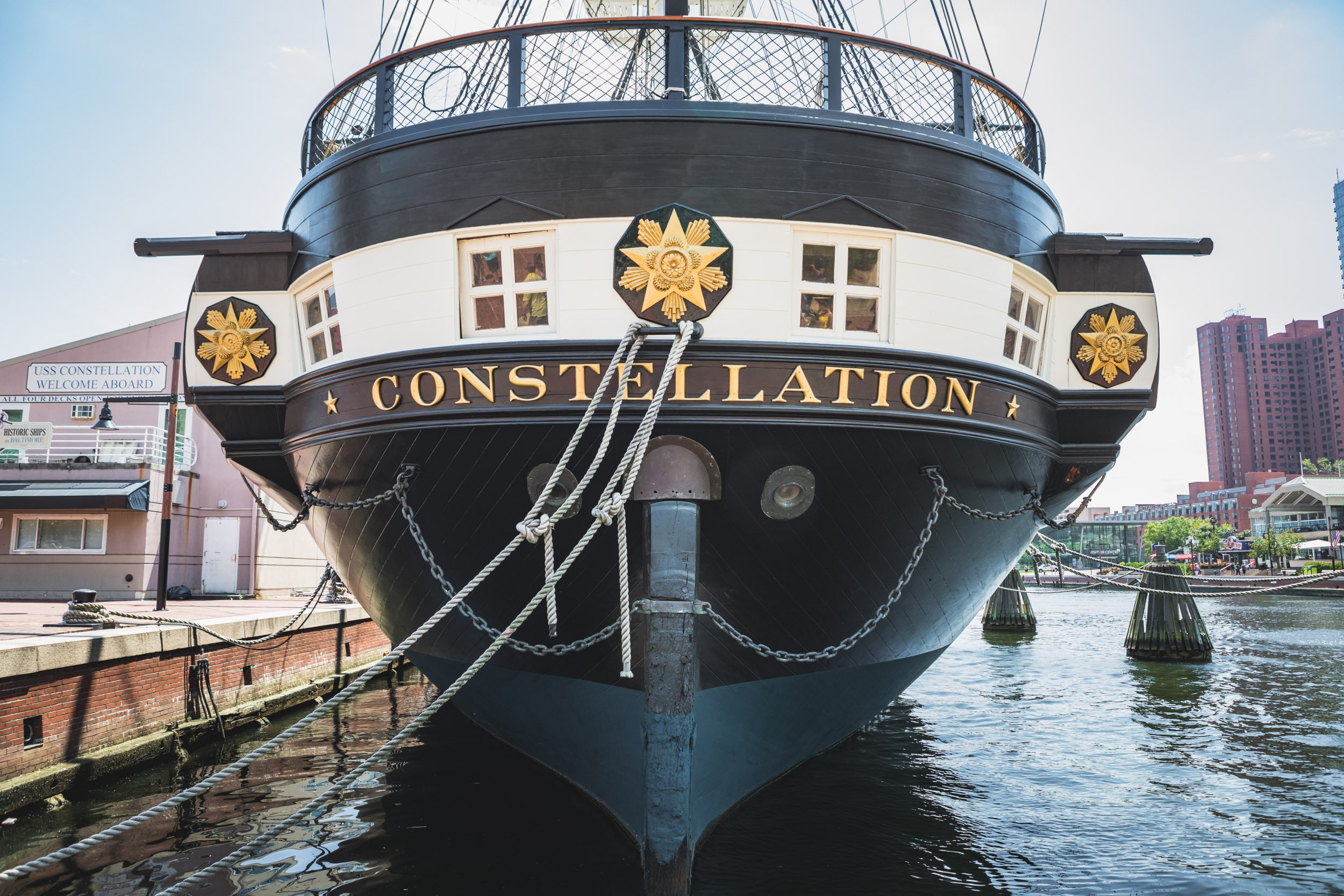 USS Constellation in Baltimore, Maryland