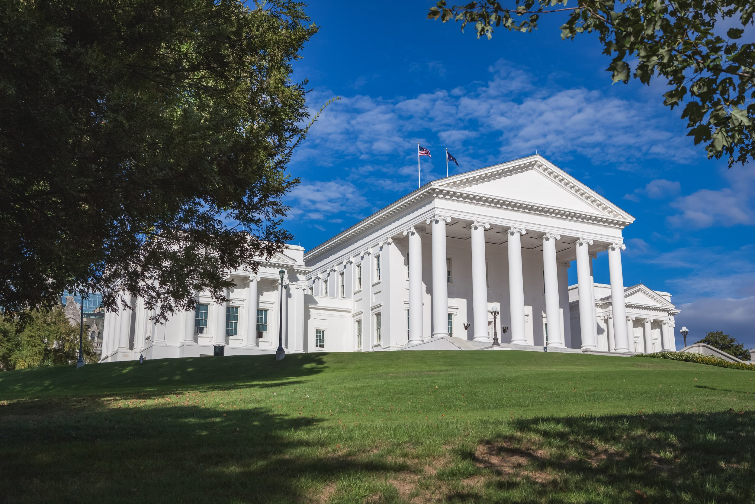 Virginia State Capitol Building in Richmond, VA