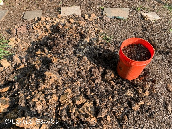 Compost Clay Soil Mix