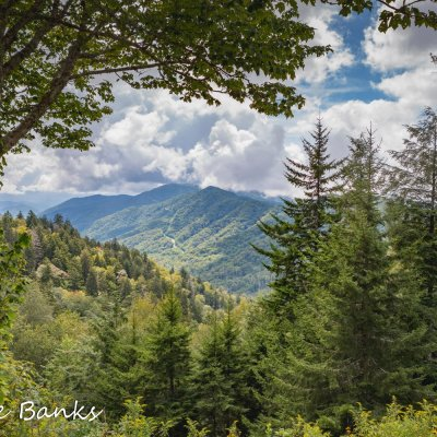 Great Smoky Mountain Views from Newfound Gap and Clingmans Dome