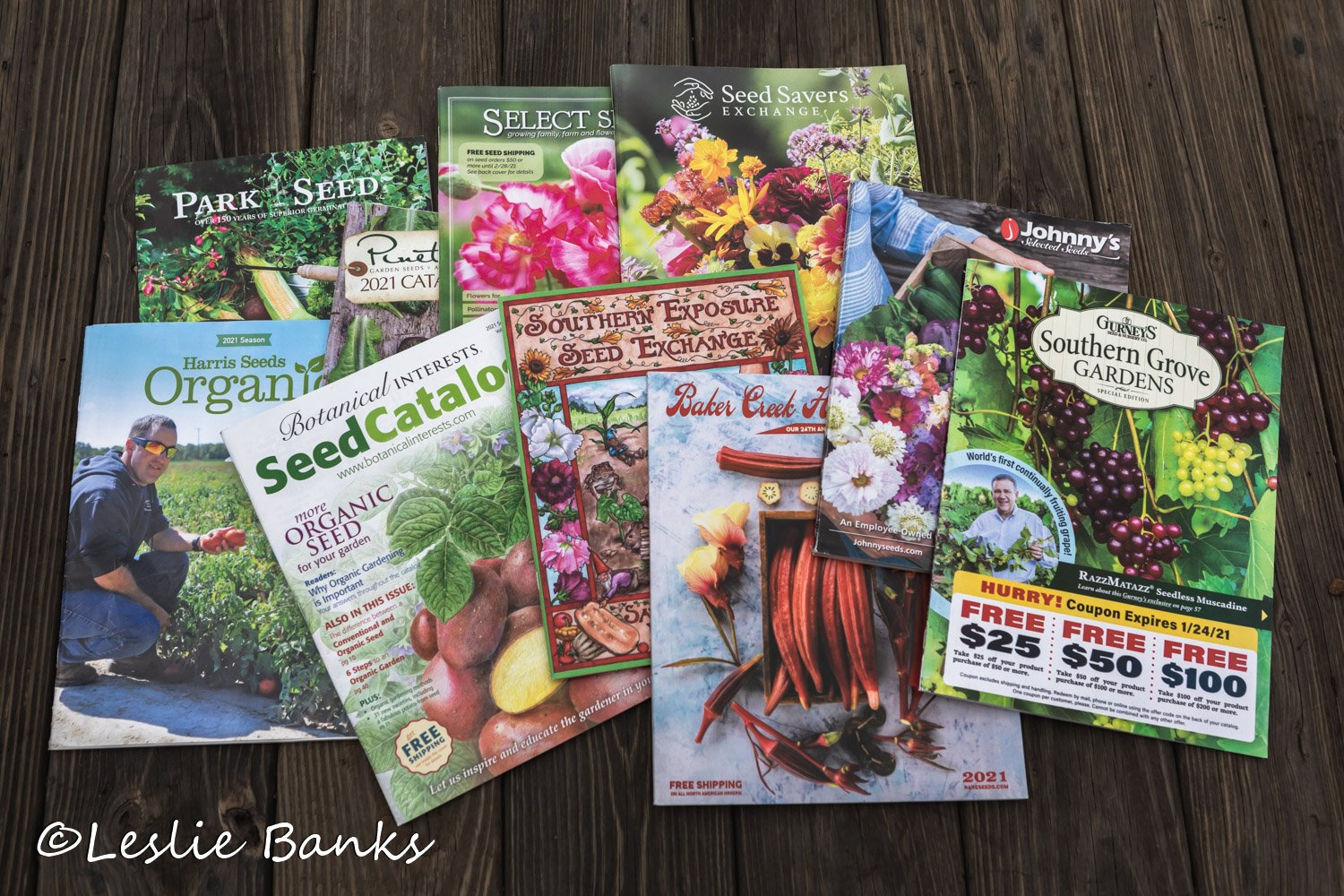 Seed Catalogs 2021