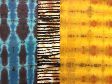 Hand Dyed Cloth Samples