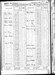 1860 Slave Schedule - Hopkins